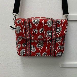 Vera Bradley Messenger Bag. EUC